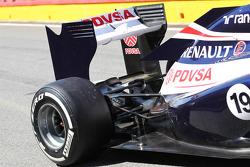 Williams rear suspension