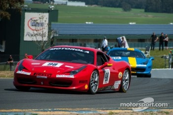 #98 Ferrari of San Francisco 458TP: Larry Bowman