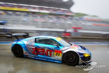 #21 Hitotsuyama Racing Audi R8 LMS: Cyndie Allemann, Akihiro Tsuzuki, Yukinori Taniguchi