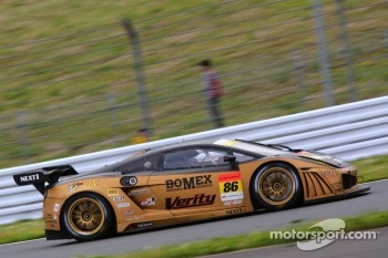 #86 JLOC Lamborghini Gallardo RG-3: Junichiro Yamashita, Hideshi Matsuda