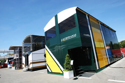 Caterham F1 Team motorhome