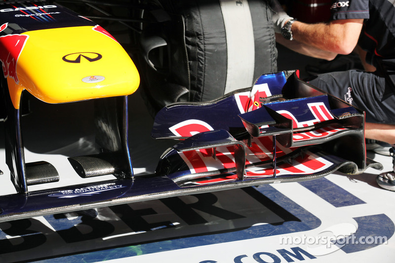 Red Bull Racing front wing