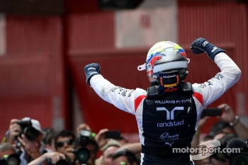 Race winner Pastor Maldonado, Williams F1 Team
