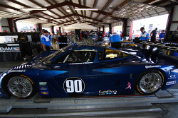 #90 Spirit Of Daytona Chevrolet Corvette Dp: Michael Valiante, Richard Westbrook
