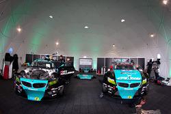 Vita4one Racing Team paddock area