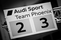 Audi Sport Team Phoenix pitboard
