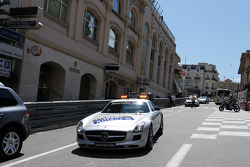 FIA Safety Car on the circuit