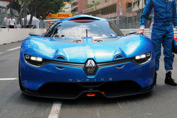 The Renault Alpine A110-50 Concept car is unveiled