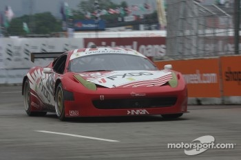 #69 AIM Autosport Ferrari 458: Emil Assentato, Jeff Segal