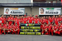 Ferrari pledge their support to victims of the recent earthquakes in Italy