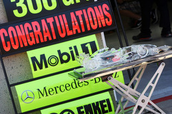 McLaren celebrate 300 Grands Prix with Mobil