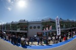 Pitlane ambiance before pre-race ceremony