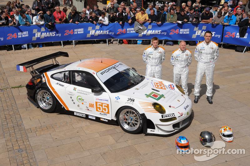 #55 JWA-Avila Porsche 911 RSR: Paul Daniels, Markus Palttala, Joel Camathias