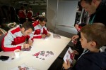 Autograph session: Romain Dumas and Marc Gene