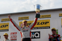 Round 12 Race winner Matt Neal