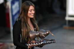 Lovely podium girl