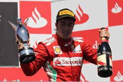 1st place Fernando Alonso, Scuderia Ferrari