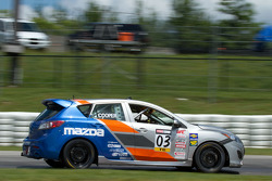 #03 Atlanta Motorsports Group Mazda Mazdaspeed 3 : Michael Cooper