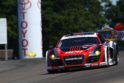 #52 APR Motorsport Audi R8 GRAND-AM Audi Sport Customer Racing: Marc Basseng, Frank Stippler