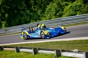 #52 PR1 Mathiasen Motorsports  Oreca FLM09 Chevrolet: Butch Leitzinger, Ken Dobson  