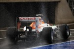 Nico Hulkenberg, Sahara Force India F1 leaves the pits