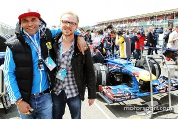 Goldie, Actor / Musician with Simon Pegg, Actor on the grid