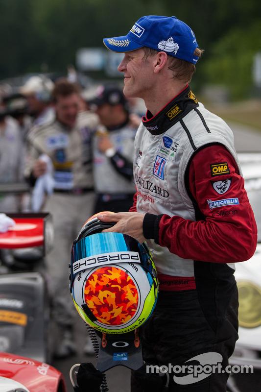 Jörg Bergmeister and Flying Lizard win GT