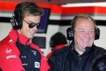 Tom Chilton with father Grahame Chilton