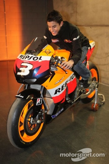 Marc Marquez in 2010