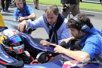 Carlos Sainz Jr, Carlos Sainz Sr, Jose Manuel Lopez Garcia