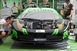 Extreme Speed Motorsports team area