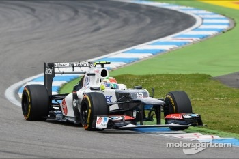 Sergio Perez, Sauber