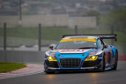 SUPERGT: #21 Hitotsuyama Racing Audi R8 LMS: Cyndie Allemann, Akihiro Tsuzuki, Richard Lyons
