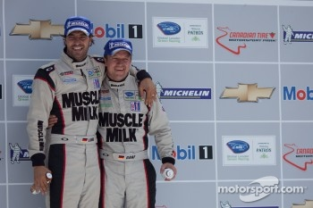 #6 Muscle Milk Pickett Racing: Lucas Luhr, Klaus Graf
