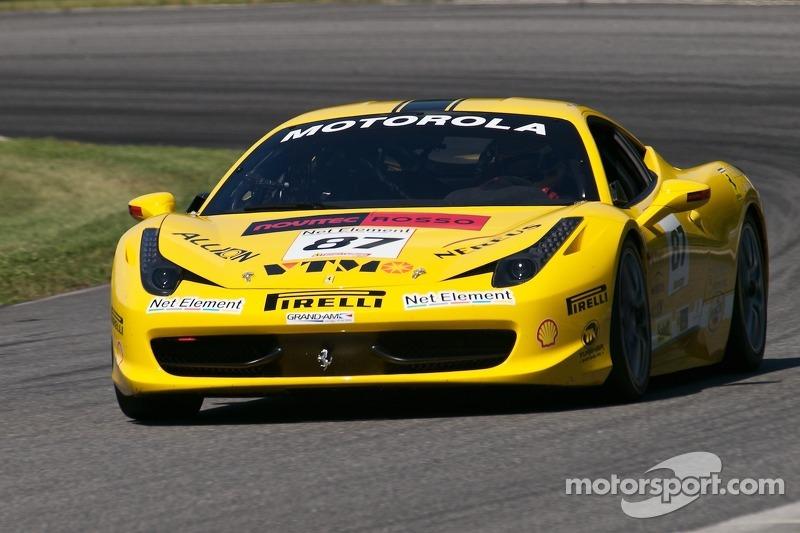 #87 Ferrari of San Diego 458CS: Rich Baek