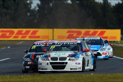 Tom Boardman, SEAT Leon WTCC,  Special Tuning Racing and Mehdi Bennani, BMW 320 TC, Proteam Racing