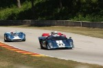 #82 1969 Lola T70 MkIIIB : Hobie Buppert #146 1963 Genie Mk VIII: John Harden #11 1965 Lola T70 MkI : Marc Devis 