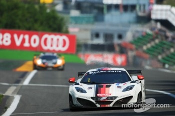 #12 ART Grand Prix McLaren MP4-12C GT3: Gregoire Demoustier, Duncan Tappy, Mike Parisy, Ulric Amado