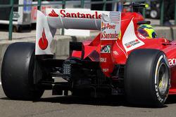 Felipe Massa, Ferrari rear wing detail