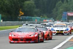#20 SOFREV ASP Ferrari 458 Italia: Jean-Luc Beaubelique, Patrice Goueslard, Ludovic Badey, Tristan Vautier