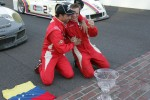 Race winners Alex Popow, Sébastien Bourdais