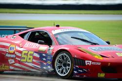 #56 AF-Waltrip Ferrari 458: Robert Kauffman, Rui Aguas