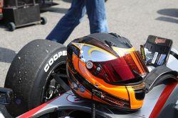 Spike Goddard's helmet