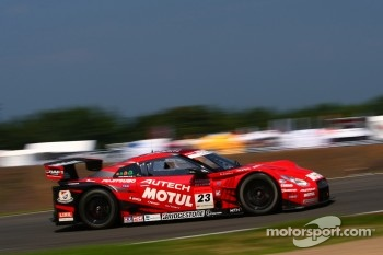 #23 Nismo Nissan GT-R: Satoshi Motoyama, Michael Krumm