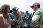 Matt Kenseth, Roush Fenway Racing Ford and Dale Earnhardt Jr., Hendrick Motorsports Chevrolet