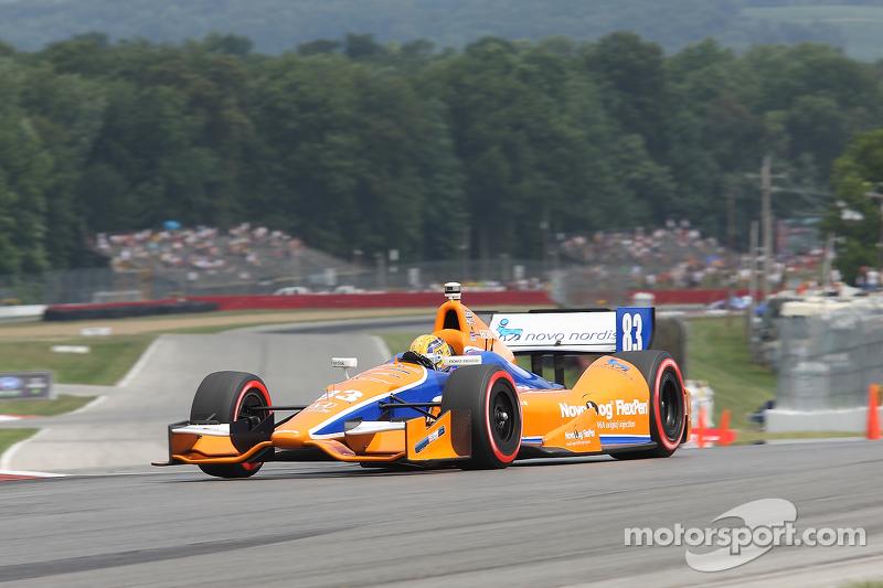 Charlie Kimball,Giorgio Pantano, Novo Nordisk Chip Ganassi Racing Honda