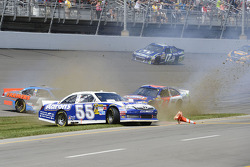Trouble for Mark Martin, Michael Waltrip Racing Toyota