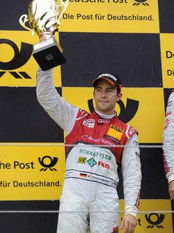Podium: second place Mike Rockenfeller, Audi Sport Team Phoenix Racing