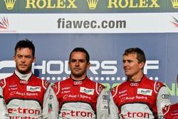 Andre Lotterer, Benoit Tréluyer, Marcel Fässler