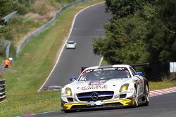 #7 ROWE Racing Mercedes SLS AMG GT3: Alexander Roloff, Roland Rehfeld